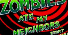Zombies Ate My Neighbors Genesis Screenshot