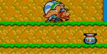Asterix And The Secret Mission GameGear Screenshot