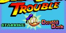 Deep Duck Trouble Starring Donald Duck GameGear Screenshot