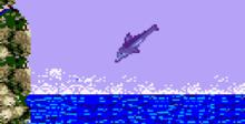 Ecco The Dolphin GameGear Screenshot