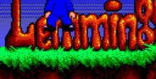 Lemmings GameGear Screenshot
