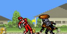 Mighty Morphin Power Rangers The Movie GameGear Screenshot