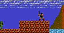 Rastan Saga GameGear Screenshot