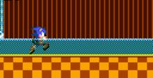 Sonic The Hedgehog GameGear Screenshot