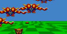 Space Harrier GameGear Screenshot
