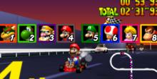 Mario Kart 64 Nintendo 64 Screenshot