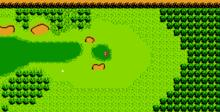 Bandai Golf: Challenge Pebble Beach NES Screenshot