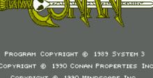 Conan: The Mysteries of Time NES Screenshot