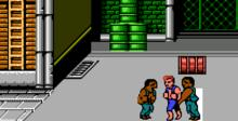 Double Dragon NES Screenshot