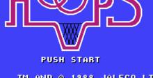 Hoops NES Screenshot
