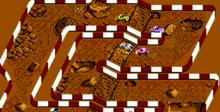 "Ivan ""Iron Man"" Stewart's Super Off-Road NES Screenshot"
