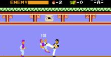 Kung Fu NES Screenshot