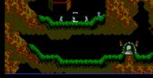 Lemmings NES Screenshot