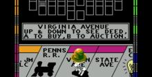 Monopoly NES Screenshot