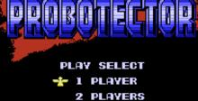 Probotector NES Screenshot