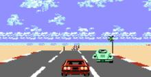 Rad Racer NES Screenshot