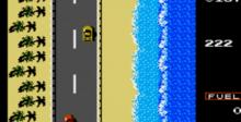 Road Fighter NES Screenshot