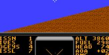 Stealth ATF (Stealth Eagle) NES Screenshot