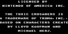 Toxic Crusaders NES Screenshot