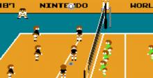 Volleyball NES Screenshot