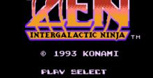 Zen: Intergalactic Ninja NES Screenshot