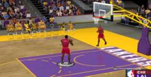 NBA Courtside GameCube Screenshot
