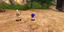 Sonic Adventure DX GameCube Screenshot
