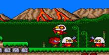 Bonk's Adventure PC Engine Screenshot