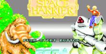 Space Harrier PC Engine Screenshot