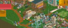 RollerCoaster Tycoon 2: Time Twister PC Screenshot