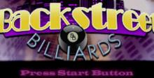 Backstreet Billiards Playstation Screenshot