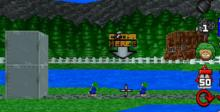 Lemmings Adventure Playstation Screenshot