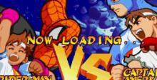 Marvel Super Heroes vs. Street Fighter Playstation Screenshot
