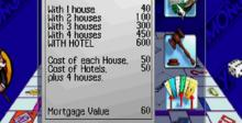 Monopoly Playstation Screenshot