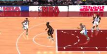 NBA ShootOut Playstation Screenshot