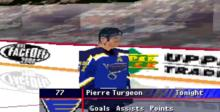 NHL Face Off 2000 Playstation Screenshot