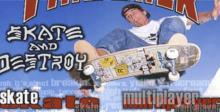 Thrasher: Skate And Destroy Playstation Screenshot