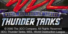 WDL: Thunder Tanks Playstation Screenshot