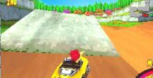 Woody Woodpecker Racing Playstation Screenshot