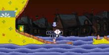 Worms Armageddon Playstation Screenshot