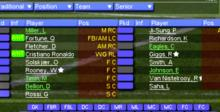 Championship Manager 2006 Playstation 2 Screenshot