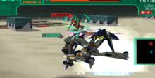 Cyber Troopers Virtual-On Marz Playstation 2 Screenshot