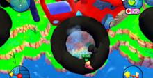 Worms 3D Playstation 2 Screenshot