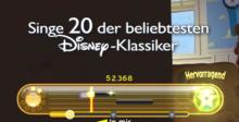 Disney Sing It Family Hits Playstation 3 Screenshot