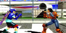 Fighting Vipers Saturn Screenshot