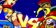 Marvel Super Heroes Vs. Street Fighter Saturn Screenshot