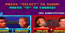 NBA Jam: Tournament Edition Saturn Screenshot