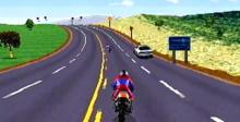 Road Rash Saturn Screenshot