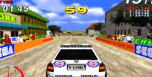 Sega Championship Rally Saturn Screenshot