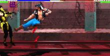 Ultimate Mortal Kombat 3 Saturn Screenshot